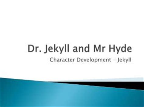 dr jekyll and mr hyde sparknotes